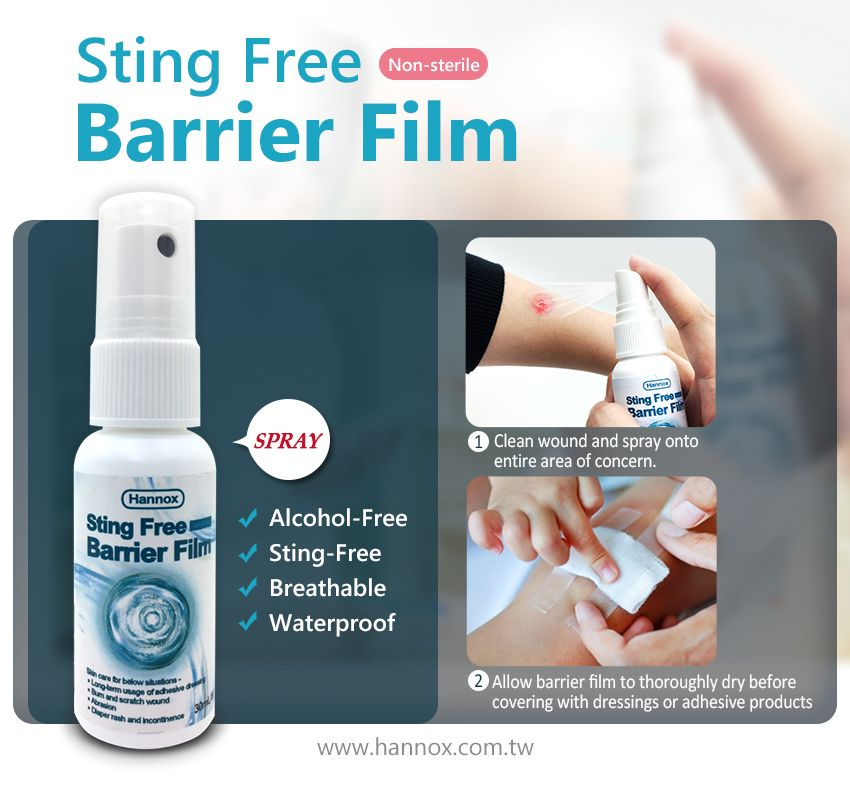 Sting Free Barrier Film