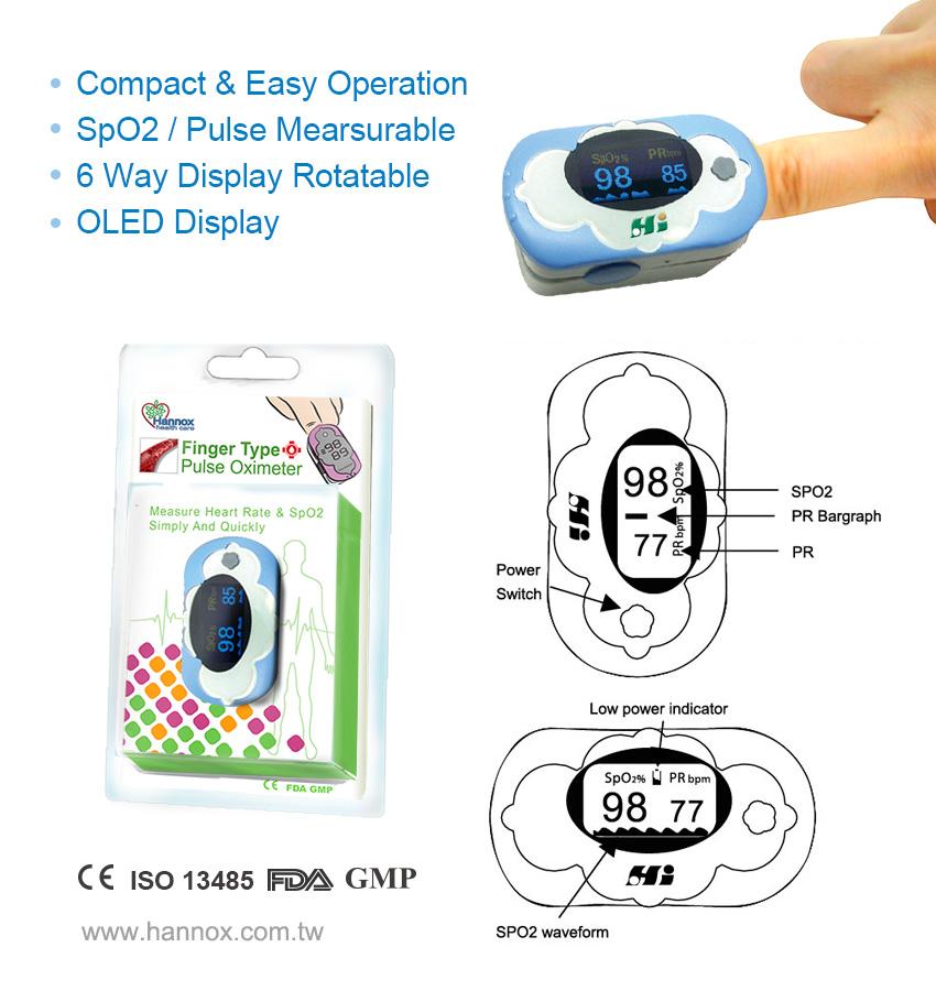OLED Finger Pulse Oximeter | Medical & Health Care Expert