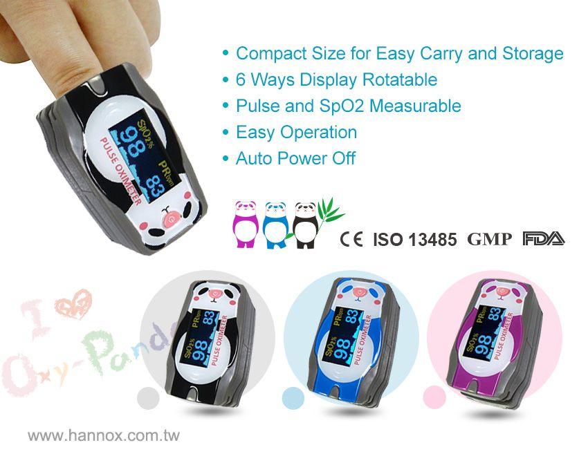 OLED Finger Pulse Oximeter for Children | Medical & Health