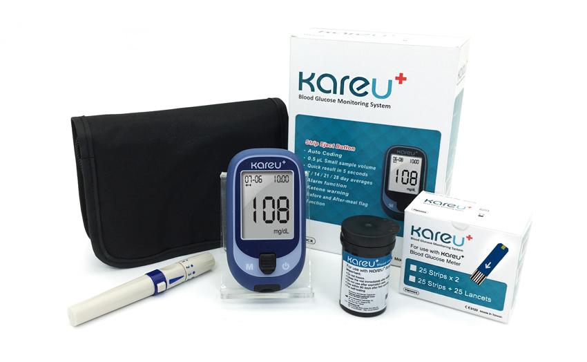 KareU+ glucose meter