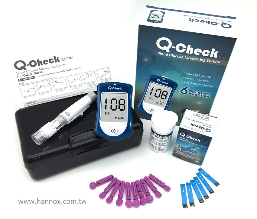 Q-check Blood Glucose Monitoring System