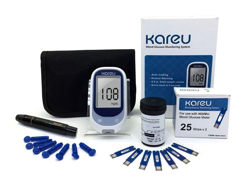 Glucometer Kit Kareu Medical Amp Health Care Expert With